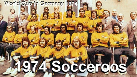 Australian Socceroos 1974 West Germany