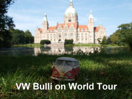 VW Bulli on World Tour
