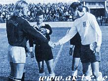 vs. English FA, 1971, first time Captain of Australia