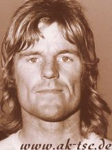 Peter Wilson 1973 as a player for Safeway United
