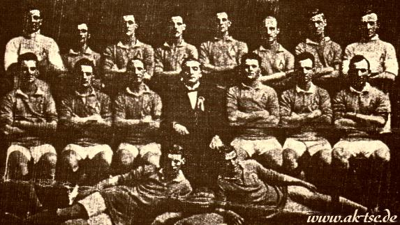 First Australian National team, 1922
